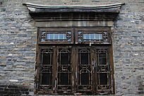 河下古镇建筑老窗子