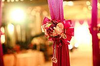 婚礼现场意境图片