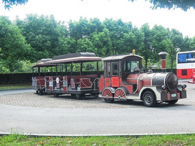 泰晤士小镇的观光小火车