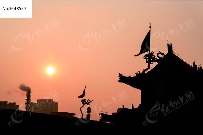 西安 古城墙图片