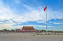 北京天安门全景