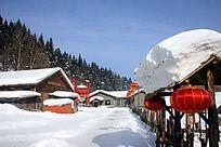 冬季乡村风情