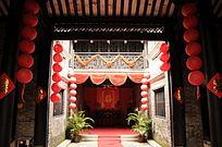 传统民居之中堂