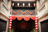 传统民居之中堂正面景