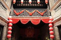 传统民居之中堂正上景