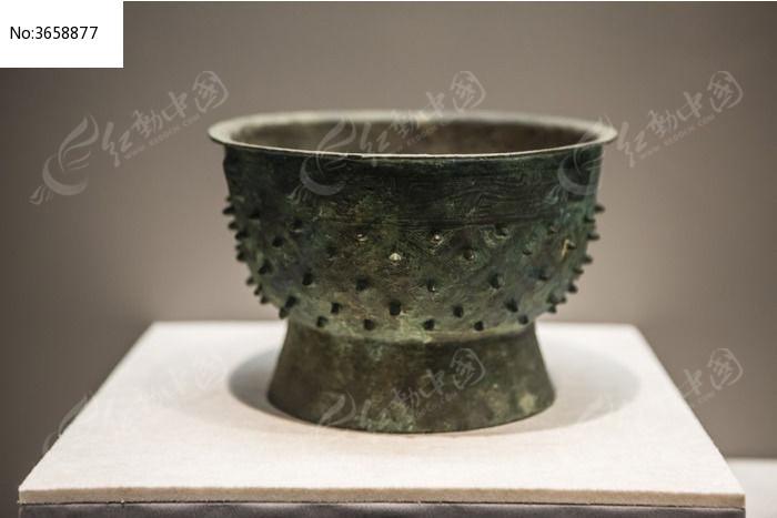 古代铜盆图片