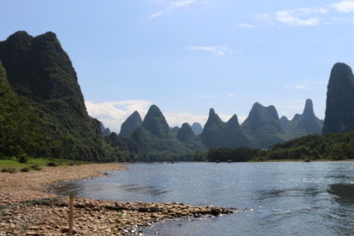 桂林山水图片,高清大图_山峰山脉素材