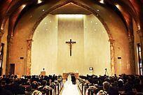 教堂婚礼现场