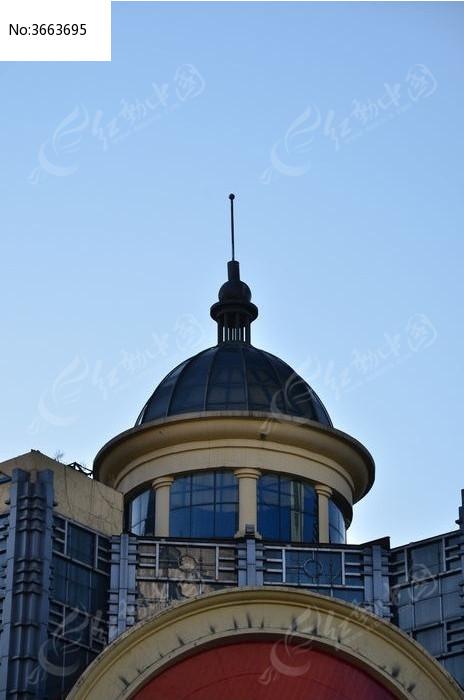 欧式风格楼顶设计 建筑