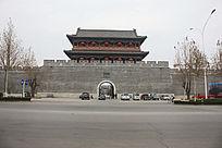 青州城南门阜财门