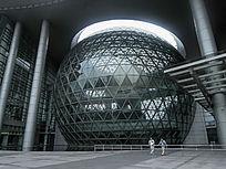 上海科技馆圆球建筑