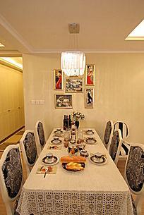 餐桌室内装饰