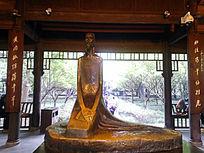 杜甫草堂雕塑
