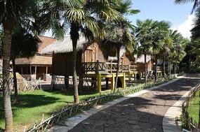 哈尼族寨的特色风景
