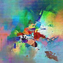 抽象油画 抽象艺术 抽象画