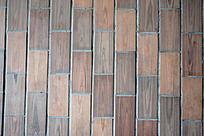 木纹地砖地面