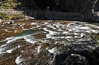 湍急的河流