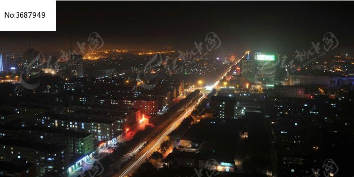 万家灯火明图片,高清大图_城市风光素材