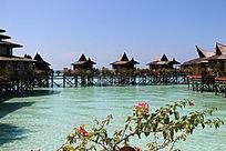 马布岛风情水上屋