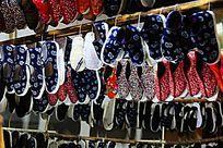 漂亮的布鞋