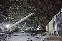 金属结构施工工地