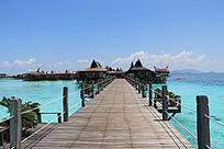 马布岛海洋木屋栈道