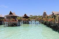 马布岛特色水上屋