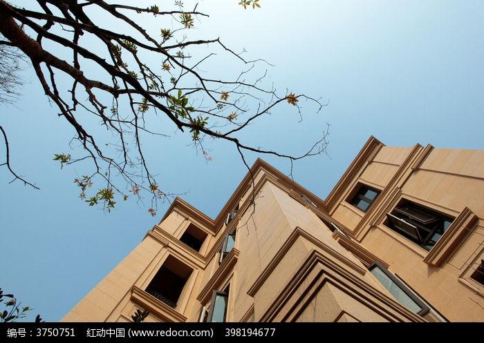 欧式建筑外立面图片,高清大图