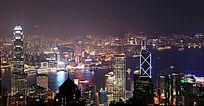 香港太平山顶夜景