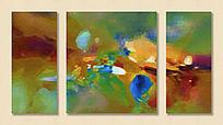 艺术背景 抽象油画