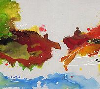 抽象油画 纯抽象画