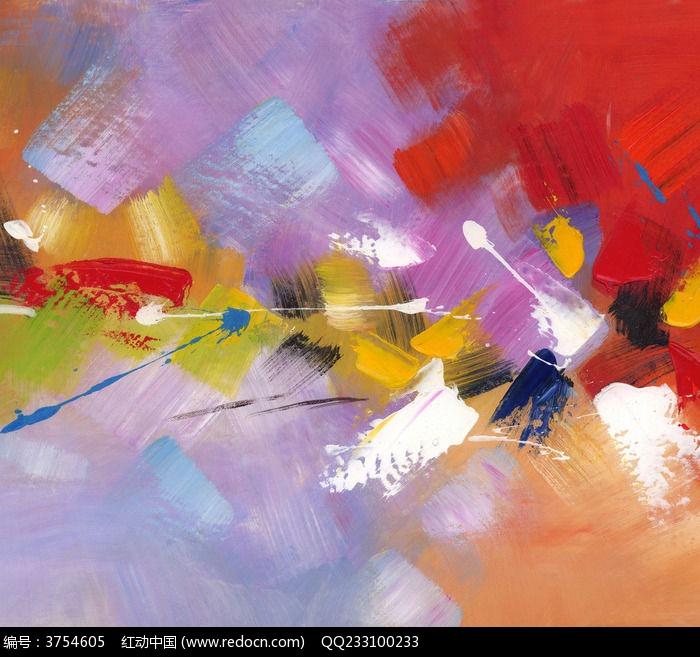 抽象油画 色块抽象画图片,高清大图_插画绘画素材