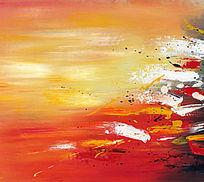 抽象 装饰画 涂鸦 抽象油画 纯抽象画