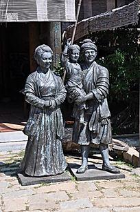 妈祖父母雕像