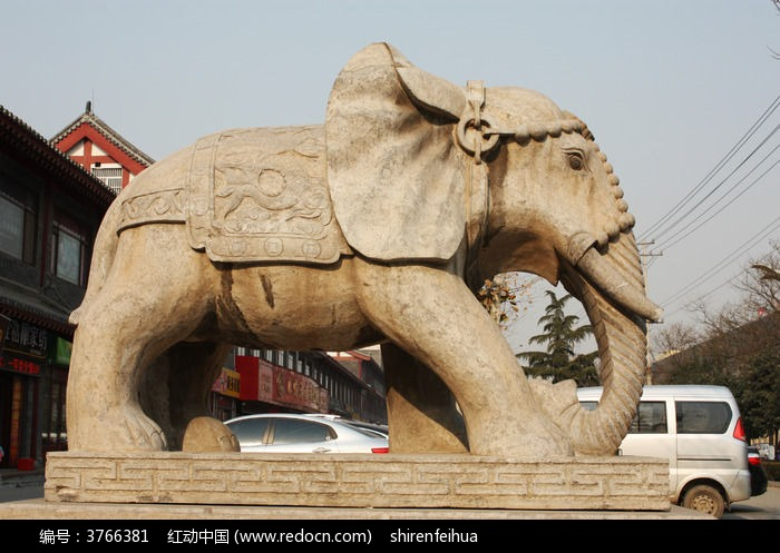 房屋石雕北方农村大象设计图图片