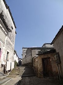 宏村风景摄影