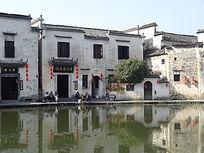 宏村古建筑图片