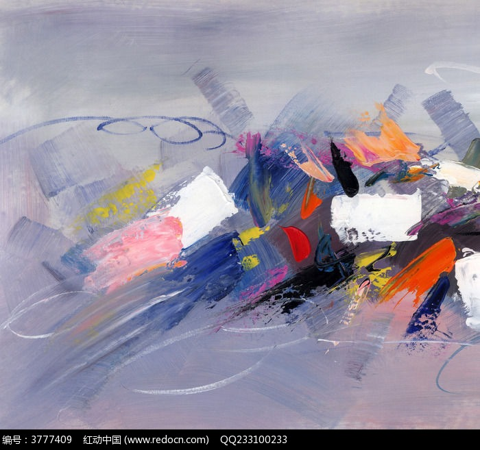 抽象画 油画图片,高清大图_插画绘画素材