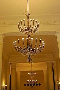 室内装饰 多枝吊灯