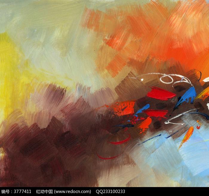 手绘油画 抽象画图片,高清大图_插画绘画素材