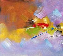 抽象画 装饰画 油画