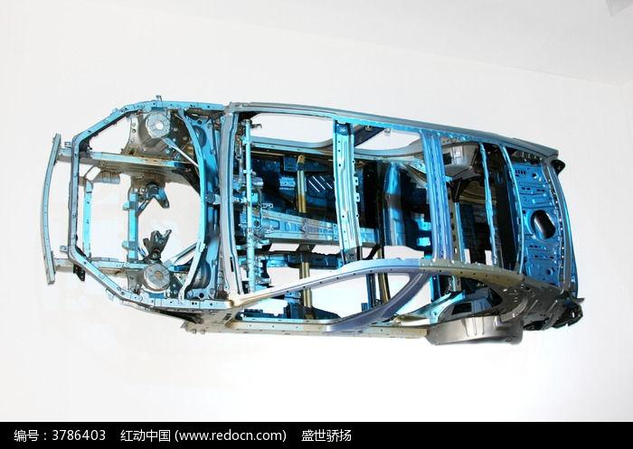 汽车前盖内部结构图解