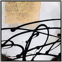 现代 抽象 油画 画 无框画