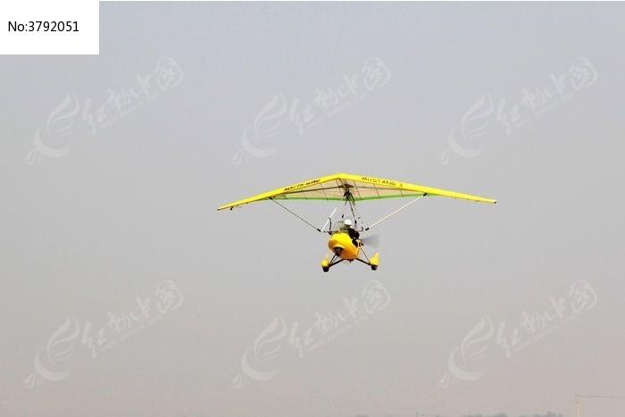空中的三角翼飞机