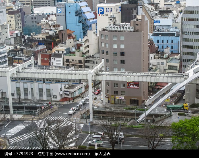日本城市街景图片图片