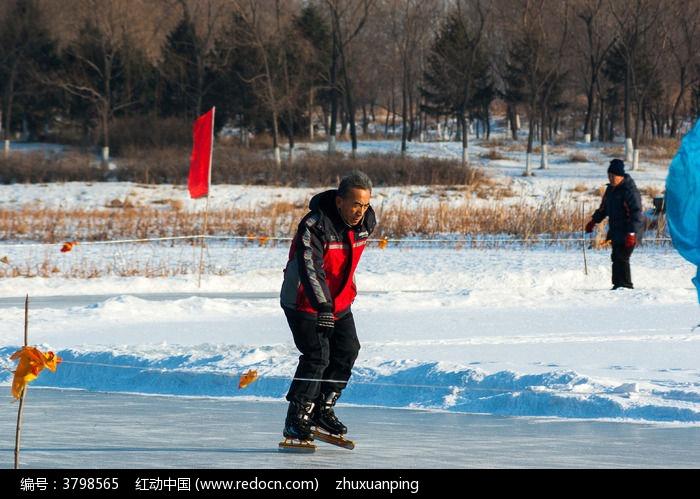 秦皇岛滑冰图片