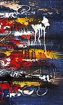 抽象画 色块抽象画