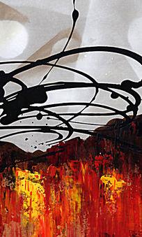 抽象无框画 现代抽象装饰画