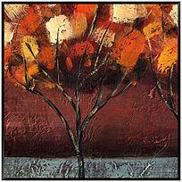 抽象油画 油画风景