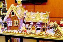 圣诞小屋的场景